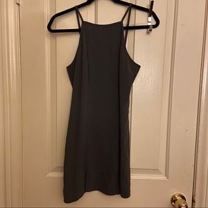 M Slit Mini Dress